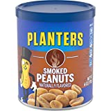 Planters Peanuts, Smoked  6 Ounce Canister (Pack of 8)