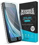 Ringke Invisible Defender Glass [2 Unidades] Diseñado para Protector Pantalla iPhone SE 2020/8 / 7, Cristal Templado iPhone 8/7 / SE 2020, Vidrio Templado iPhone 7/8 / SE 2020 Alta Definicion