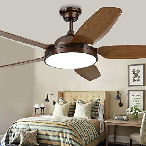 Pendelleuchte Kronleuchter Lampe Deckenventilator, amerikanische Retro-Beleuchtung, Wohnzimmer Einfache Persönlichkeit Restaurant Ventilator Licht, Fan LED Deckenventilator.