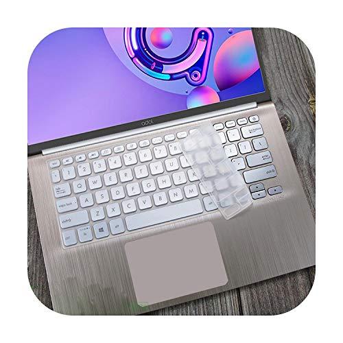 Teclado de silicona para teclado portátil Asus para Vivobook S14 S430Un S430Fn S430F S430U S430Fa S430 S 12 14 Pulgadas Transparente-