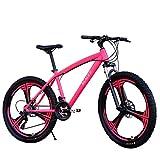 Ansenesna Bicyclette Vélo 26 inch Vélo Tout Terrain Douillet Amortisseur de Chocs 24 Vitesse à Engrenages Sécurité Fort Homme Femme étudiant