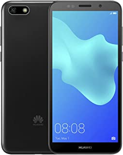 "Huawei Y5 2018 DRA-L23 Dual SIM FullView Display 5.45"" 4G LTE Quad Core 16GB 8MP Smartphone Factory Unlocked Android GO (International Version- No Warranty) (Black)"