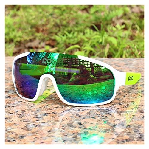YINHAO Crave POC do polarizado Airsoftsports Blade Ciclismo Gafas de Sol Hombres Sport Road Mountain Bike Glasses Hombres Mujeres Eyewear (Color : 2)