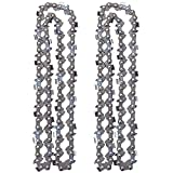 Mannial 14-Inch Chainsaw Chain fits 61PMM352E H38 52 591105052 Echo 90PX52CQ 200CS 230CS, 3/8 LP .043 Inch 52 Drive Links (2pack)