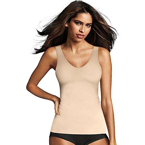Maidenform 2584 Camiseta Tirantes, Beige (Paris Nude WR9), 38 para Mujer