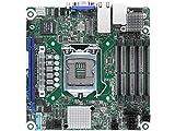 ASRock Rack E3C246D4I-2T Xeon E-2100/ Intel C246/ DDR4/ SATA3&USB3.1/ V&2GbE/ Mini-ITX Server Motherboard