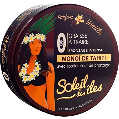 Soleil des îles - Graisse à traire au monoï de Tahiti – Parfum Vanille - 150 ml