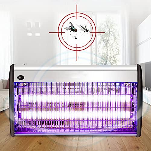 ZHTY lámpara de Mosquito Control físico de Mosquitos,Doble Tubo UV/LED Incorporado Se Puede Colgar y sobremesa para hogares,oficinas,hoteles,Granjas (16 W,20 W,30 W,40 W)