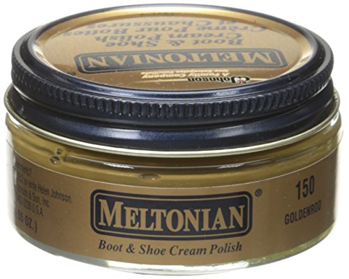 Meltonian 1.55oz Boot Shoe Polish Tan O/S