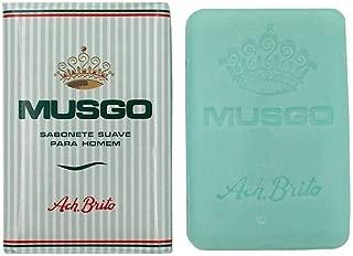 4x Ach. Brito Musgo Real Men Body Bath Vintage Toilet Soap 5.6 oz