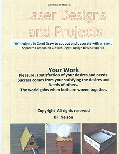Laser Designs and Projects: DIY Projects in Corel Draw to cut out and decorate with a laser machine