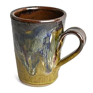 Larrabee Ceramics Coffee Mug, Brown/Multi