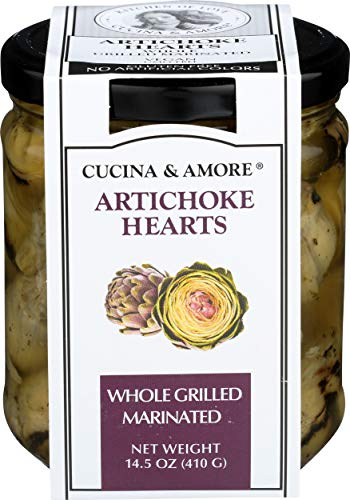 Cucina & Amore, Artichokes Grilled Marinated, 14.5 Ounce