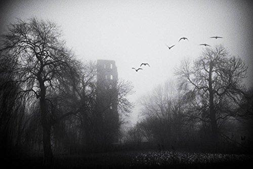 kunst für alle Stampa Artistica/Poster: Jacqueline Van Bijnen Tower of mysterie - Stampa di Alta qualità, Immagini, Poster artistici, 90x60 cm