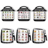 ZOWIE KING Kitchen Conversion Chart Cooking-Time Magnet - Air Fryer Magnetic Cheat Sheets Instant Pot Decals Refrigerator Magnets (Instant Pot & Air Fryer)
