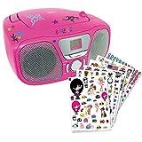 BigBen Interactive CD46 Radio/Radio-réveil Lecteur CD