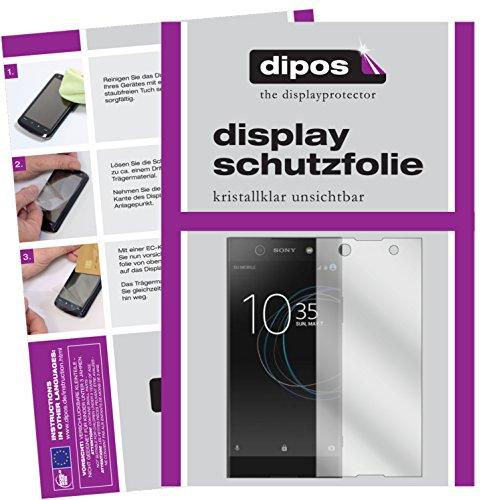 dipos I 6X Schutzfolie klar kompatibel mit Sony Xperia XA1 Ultra Folie Bildschirmschutzfolie