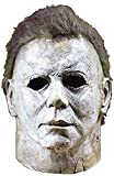 Ani·Lnc Michael Myers Mask Halloween Cosplay Horror Full Face Mask Spaventoso Personaggio dei Cartoni Animati Adulti Costume Cosplay Puntelli Giocattolo