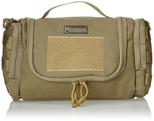 Maxpedition Gear Aftermath Compact Toiletries Bag, Khaki