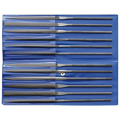 Rüggeberg 7666490160 Limas de aguja, 160 mm, Set de 12 Piezas