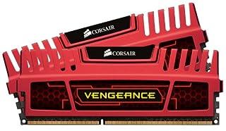 Corsair Memory Vengeance 8GB DDR3 SDRAM Memory Module - 8 GB (2 x 4 GB) - DDR3 SDRAM - 1600 MHz DDR3-1600/PC3-12800 - 240-pin -DIMM Red CMZ8GX3M2A1600C9R (B0053GLCEY) | Amazon price tracker / tracking, Amazon price history charts, Amazon price watches, Amazon price drop alerts