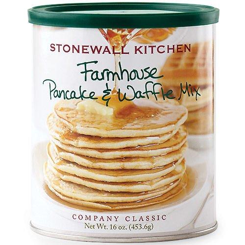 Stonewall Kitchen Farmhouse Pancake & Waffle Mix 453g - Pancake mix - Waffle mix - Pancake per sciroppo d'acero - Preparato per pancake - Preparato per waffle - preparato pancake - alimenti americani