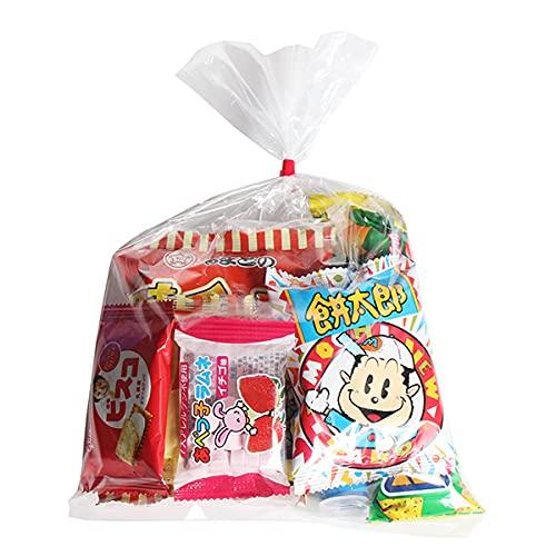 200円 お菓子 詰め合わせ(Cセット) 袋詰め(7種・計7コ) おかしのマーチ (omtma5771)