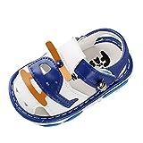Janly Liquidacin Venta Zapatos de Beb, Recin Nacido Nias Nios Dibujos Animados Sandalias Primeros Walkers Suela Suave Zapatos, para Nios Pequeos, azul, 12-15 Meses