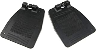 Baoblaze Economy Footrest for Standard Wheelchairs, Composite Footplates Replacements Parts