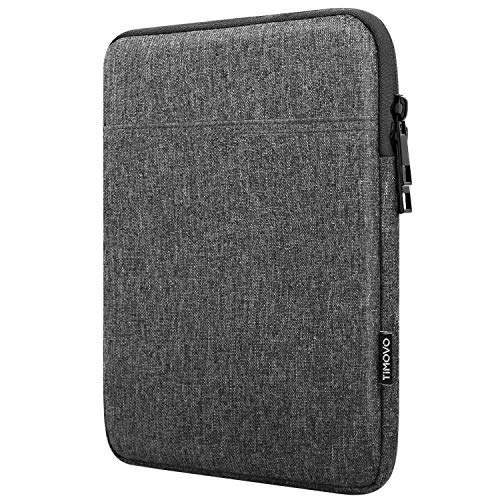 TiMOVO Funda para Tablet de 9-11' para 2020 iPad Air 4 10.9, iPad Pro 11 2018-2021, iPad 10.2, Galaxy Tab A7 10.4 2020, S6 Lite 2020, Surface Go 2/1 Bolsa Apta Teclado Inteligente, Gris Oscuro