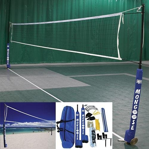 Gared Mongoose Wireless Indoor / Outdoor Volleyball Net System