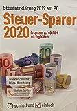 Steuersoftware 2020 Steuerjahr 2019 Steuer-Sparer CD Steuererklärung Elster Steuerprogramm
