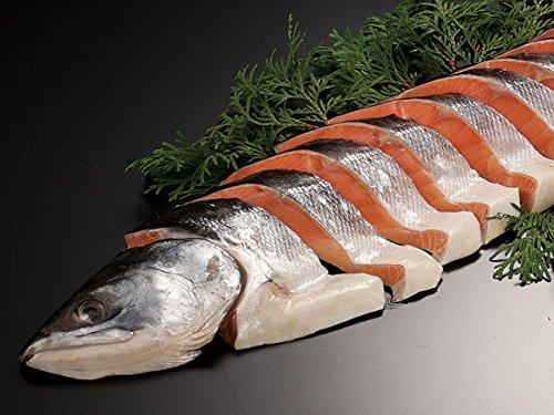北海道産 時鮭半身 (姿切り身) 約1kg【出荷元:北海道四季工房】