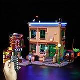 DAN DISCOUNTS Kit de iluminación LED para LEGO Sesame Street 21324 (piezas de construcción no incluidas)