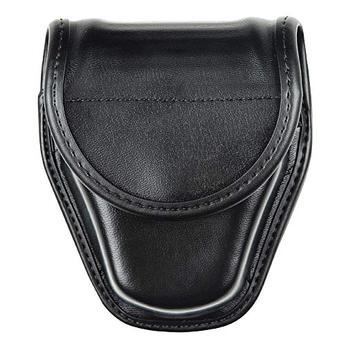 BIANCHI AccuMold Elite Hidden Snap 7917 Double Cuff Case (Plain Black), Model: 1016890