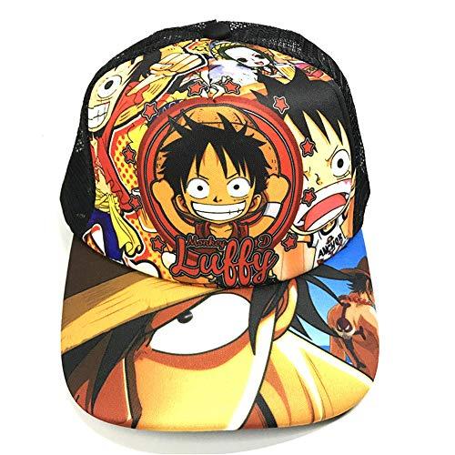 Anime One Piece Sombrero de Sol Deportes Al Aire Libre de Protección Solar Gorra de Béisbol para Pesca Cámping Gorra de Unisex