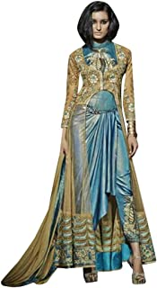 Ethnic Sale offer Diwali Anarkali Salwar Kameez Jacket Indian Pakistani Muslim Festive Women Apparel 7195 5