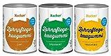 Xucker - 3er Kaugummi-Set (3 x 100 g) - Spearmint, Fruchtmix und Zimt -