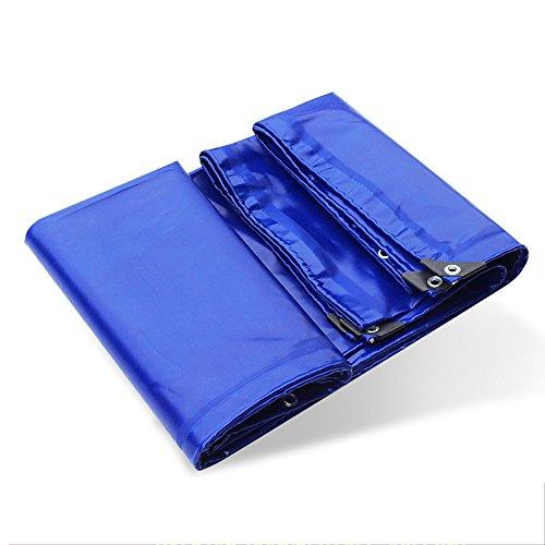 Regen-Tuch Im Freien Kampierendes Zelt-Swimmingpool-Tuch PVC-Kleber-Abdeckungs-Tuch - Sonnenschutz Windundurchlässige Auto-Plane-blaue Stärke 0.6mm Mit Befestigungs-Öse ++ ( größe : 2x3m )