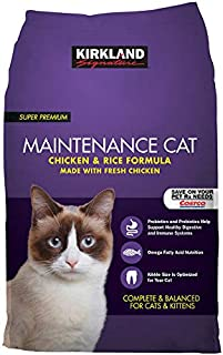 Kirkland Signature Expect More Chicken and Rice Cat Food 25 lbs.