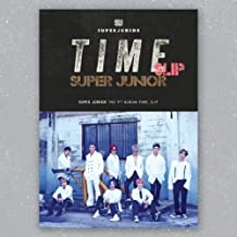Super Junior - Time Slip [Member Cover] (Vol.9) CD+Photobook+Poster+Extra Photocards Set (DONGHAE ver. + Unfolded Poster+Tube Case+Tracking no.)