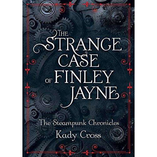 The Strange Case of Finley Jayne audiobook cover art