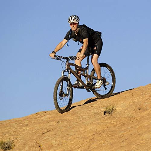 Lizac Shimano Schalthebel V Brake ST EF51 Set, Schalthebel Bremshebel mit Bremskabel, 8 Fach Gangschaltung Bremskombination mit Ganganzeige für V Brake, schwarz(L3×R8 Gänge) - 3