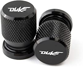 MUJUN Motorcycle Vehicle Wheel Tire Valve Stem Caps Covers for KTM 1050 1190 1290 ADV SW DUKE RC 125 200 390 690 990 Super Duke (Color : Black)
