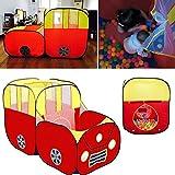 La Cabina Tentes Rabattable Bébé Tentes de Intérieur et Extérieur Respirant Pliant Tente Maison Mini Aire de Jeux Jouets Domestiques Mignon pour Enfant 142 x 70 x 94 cm