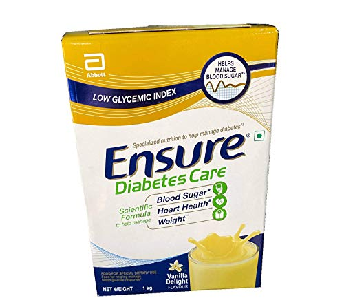 Ensure Diabetes Glucerna SR Care Vanilla Flavour 1kg (1kg)