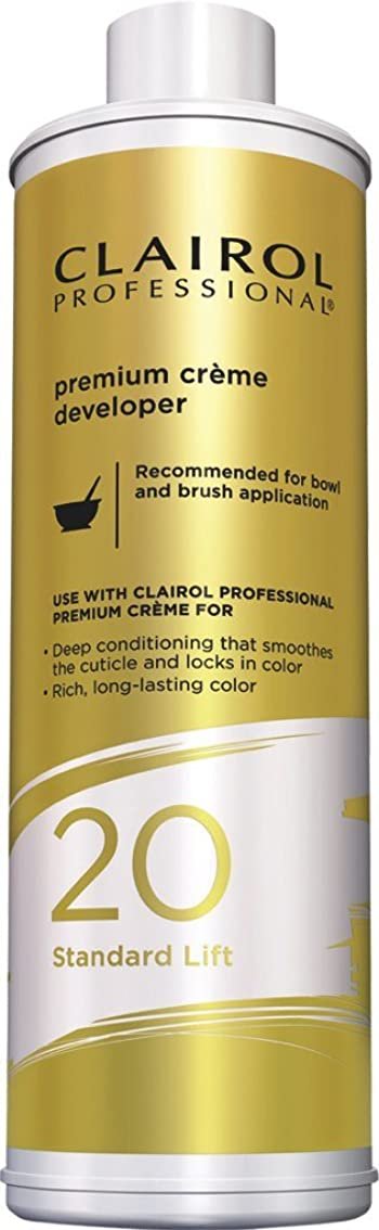 Premium Creme 20 Volume Dedicated Developer by Clairol