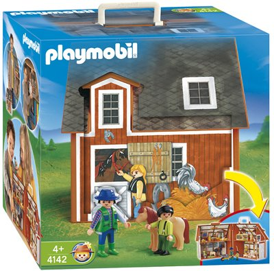 PLAYMOBIL® 4142 - Mein Mitnehm-Bauernhof