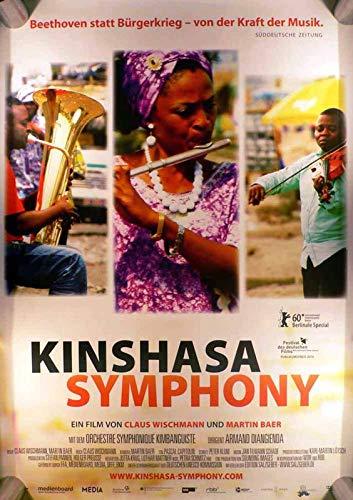 Kinshasa Symphony - Claus Wischmann - Martin Baer Filmposter A1 84x60cm gerollt