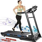 ANCHEER Treadmill, 3.25HP APP...